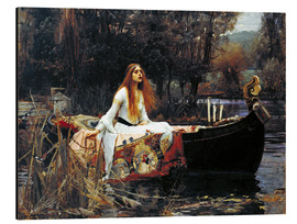 Alubild  Die Dame von Shalott - John William Waterhouse
