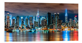 Forex  New York Skyline by Night - Sascha Kilmer