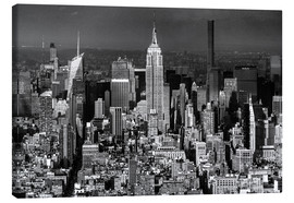 Leinwandbild  New York, Midtown Manhattan mit Empire State Building - Sascha Kilmer