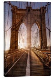 Leinwandbild  Brooklyn Bridge NYC - Sören Bartosch