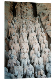 Acrylglas  Museum of the Terracotta Warriors, Mausoleum of the first Qin Emperor, Xian, Shaanxi Province, China - G & M Therin-Weise