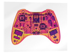 Acrylglasbild  Computer game controller, X-ray - Gustoimages