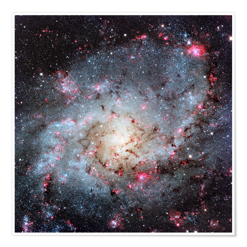 Premium-Poster Triangulum Galaxy, optical image