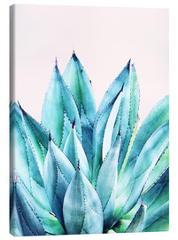 Leinwandbild  Agave Watercolor - Uma 83 Oranges