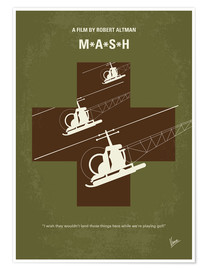 Premium-Poster M.A.S.H.