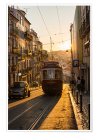 Alex Treadway - Tram in Lisbon, Portugal