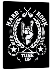 Leinwandbild  Hard rock - Durro Art