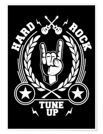 Premium-Poster  Hard rock - Durro Art