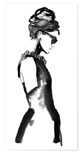 Poster Ink Audrey
