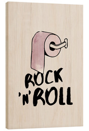 Holzbild  Rock n roll - Amy and Kurt Berlin