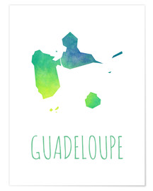 Poster  Guadeloupe - Stephanie Wittenburg