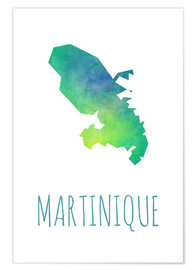 Premium-Poster Martinique