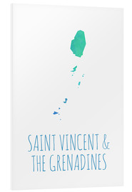 Hartschaumbild  Saint Vincent & the Grenadines - Stephanie Wittenburg