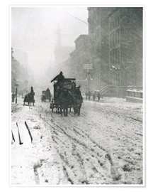 Premium-Poster Winter - Fifth Avenue