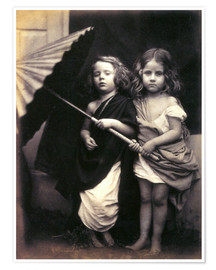 Poster  Paul und Virginia - Julia Margaret Cameron