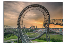 Alubild  Tiger & Turtle Duisburg Magic Mountain - Dennis Stracke