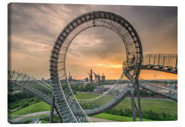 Leinwandbild  Tiger & Turtle Duisburg Magic Mountain - Dennis Stracke