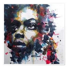 Premium-Poster  Nina Simone : My Baby Just Cares For Me - Paul Lovering