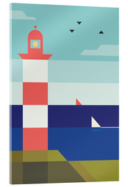 Acrylglasbild  Lighthouse - Antony Squizzato