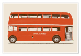 Premium-Poster English Bus   S6   Main