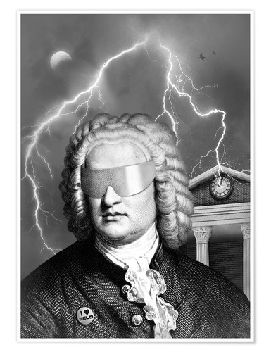 Premium-Poster Bach To the Future