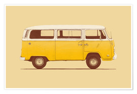 Poster  Yellow Van - Florent Bodart