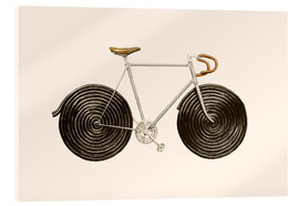 Acrylglas  Licorice Bike - Florent Bodart
