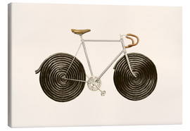 Leinwandbild  Licorice Bike - Florent Bodart