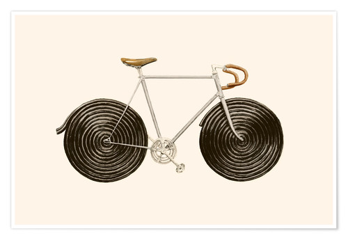 Premium-Poster Licorice Bike