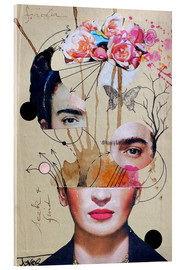 Acrylglas  frida for beginners - Loui Jover