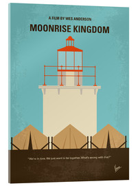 Acrylglas  No760 My Moonrise Kingdom minimal movie poster - chungkong