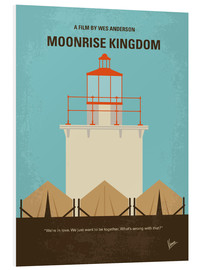 Forex  No760 My Moonrise Kingdom minimal movie poster - chungkong