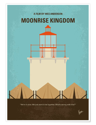 Premium-Poster Moonrise Kingdom