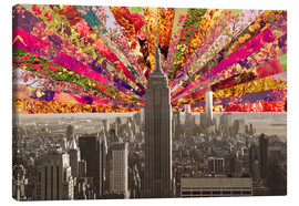 Leinwandbild  BLOOMING NEW YORK - Bianca Green