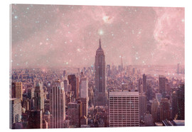 Acrylglasbild  Stardust Covering NYC - Bianca Green