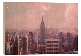 Holzbild  Stardust Covering NYC - Bianca Green