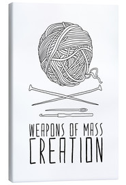 Leinwandbild  Weapons Of Mass Creation - Stricken - Bianca Green