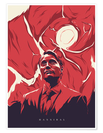 Poster  hannibal - Fourteenlab