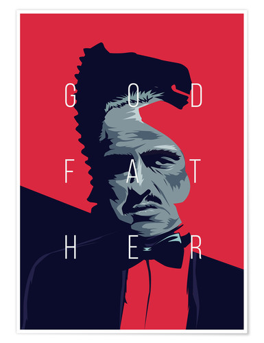Premium-Poster Godfather
