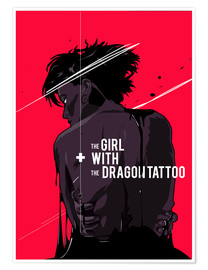Plakat  The Girl with The Dragon Tattoo - Fourteenlab