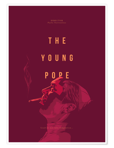 Premium-Poster Young Pope