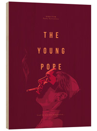 Holzbild  Young Pope - Fourteenlab