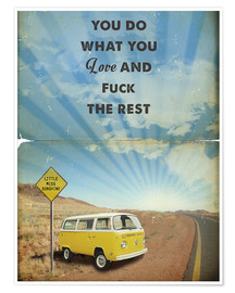 Premium-Poster Little Miss Sunshine (Englisch)