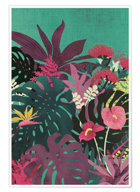 Premium-Poster Tropical Tendencies