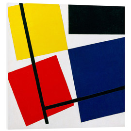 Hartschaumbild  Komposition IX - Theo van Doesburg