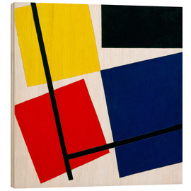 Holzbild  Komposition IX - Theo van Doesburg