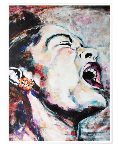 Premium-Poster Billie Holiday, I`m a Fool to Want You
