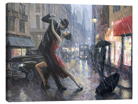 Leinwandbild  Life is a Dance in The Rain II - Adrian Borda