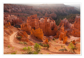 Premium-Poster  Bryce Canyon National Park, Vereinigte Staaten, Thors Hammer - Catharina Lux