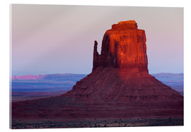 Rainer Mirau - Monument Valley im Abendrot